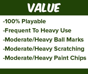 Pre-Owned Golf Clubs - Value Condition