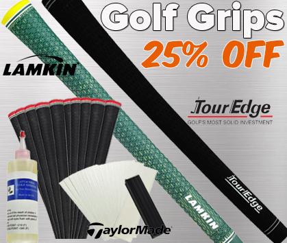 25% OFF Grips!