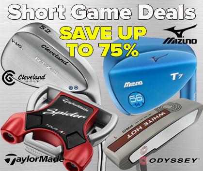 Short Game Deals - Starting At $19.98!