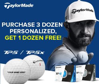 Buy 3, GET 1 FREE TaylorMade TP5/TP5x Golf Balls!