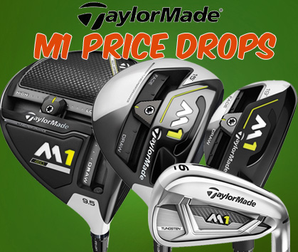 TaylorMade 2017 M1 Price Drops!