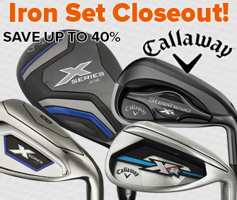 Callaway Iron Set Closeout - Too Low To Show!