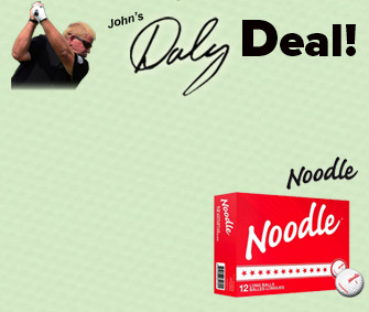 TaylorMade Noodle Golf Balls - $19.96/doz -50% = $9.98/doz w/ Discount!