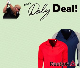 Reebok Poly Blend 1/4 Zip - $39.96 -50% = $19.98 w/ Discount!