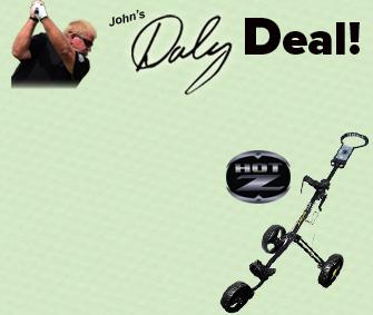 Hot-Z Sport 3-Wheel Push Cart - $159.96 -50% = $79.98 w/ Discount!
