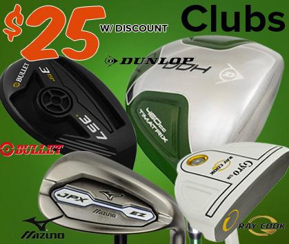 $25 Clubs!