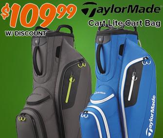 TaylorMade Cart Lite Cart Bag - $109.99!