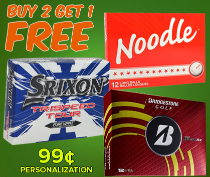 Golf Ball Deals - Buy 2, Get 1 Free!