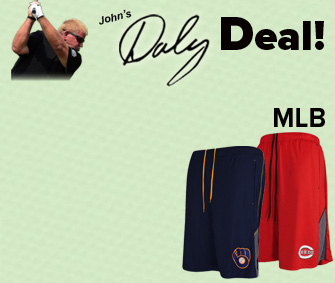 MLB Team Performance Shorts - $19.96 -50% = $9.48 w/ Discount!