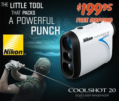 Nikon Coolshot 20 Laser Rangefinder! A Little Tool That Packs A Powerful Punch!