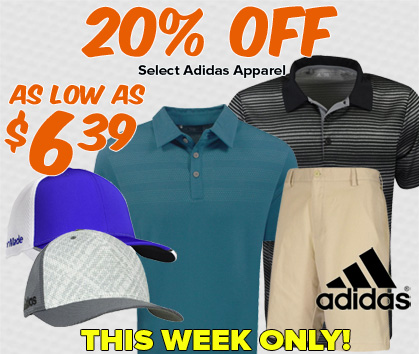 20% Off Adidas Apparel - As Low As $6.39!