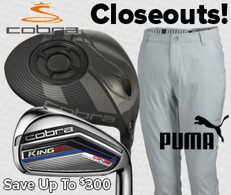 Cobra/Puma Closeouts - Save Up To $300!