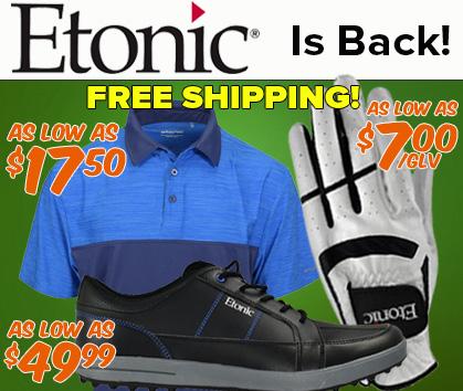 New Etonic For 2018 - Free Shipping!