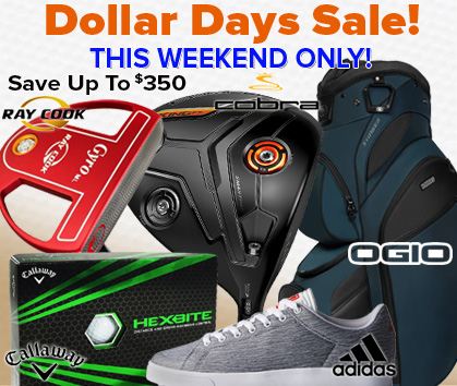 Dollar Days Sale! Save Up To $350! This Weekend Only!
