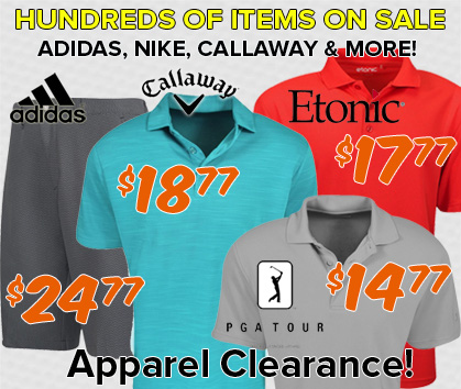 Apparel Clearance - Hundreds Of Items On Sale!