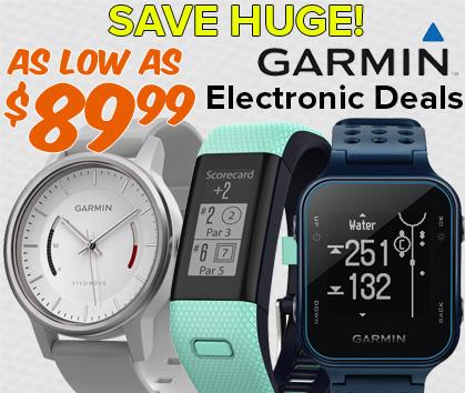 Garmin Electronic Deals - As Low As $89.99!