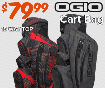 Ogio Shredder Cart Bag - $79.99!