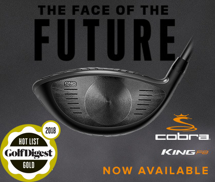 Cobra King F8 Woods Available At RBG! The Face Of The Future.
