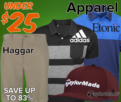 Apparel Under $25 - Save Up To 83%!