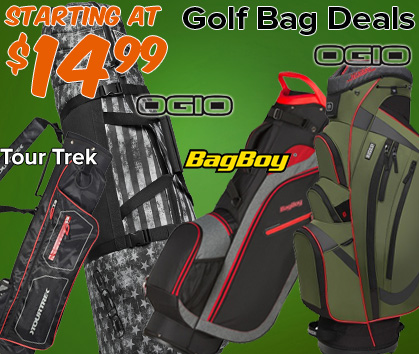 Golf Bag Deals - Starting At $14.99!