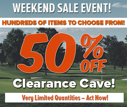 50% OFF Clearance Cave Sale!