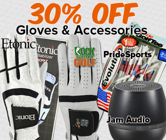 30% OFF Gloves & Accessories!