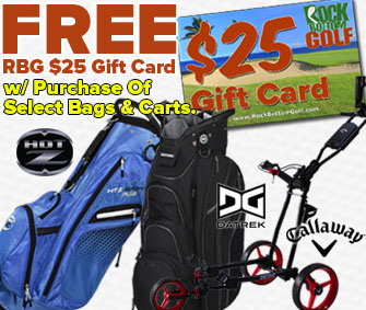 FREE $25 RBG Gift Card w/ Bag or Cart Purchase!