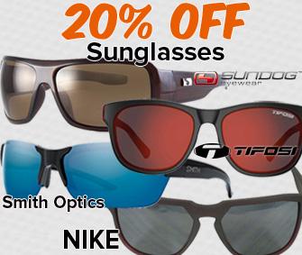 20% OFF Sunglasses!
