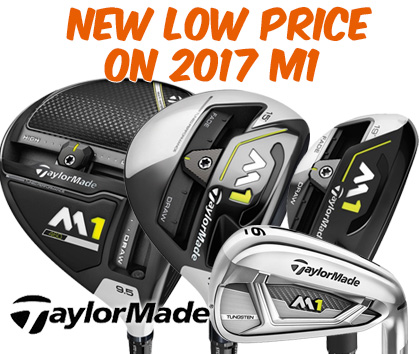 New LOWER Price On TaylorMade M1 Clubs - Save Up To $450!