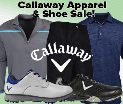 Callaway Apparel & Shoe Sale!