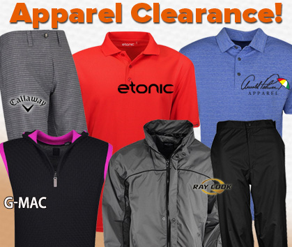 Apparel Clearance Sale! HUGE Price Drops!