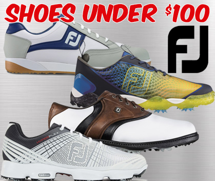 FootJoy Shoes Under $100 - Previous Season Styles!
