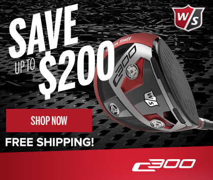 Save Up To $200 On Wilson Staff C300 Metal Woods!