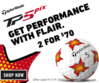 TaylorMade TP5 Pix Golf Balls Now Just 2 For $70!