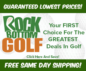 Rock Bottom Golf deals for players of Clearbrook Golf Course