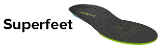 $5 Off Superfeet Insole w/ Select Footwear Purchase!