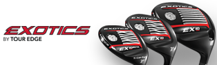 $50 Off Mail-In Rebate Savings on Tour Edge EX10 Drivers & F'ways!
